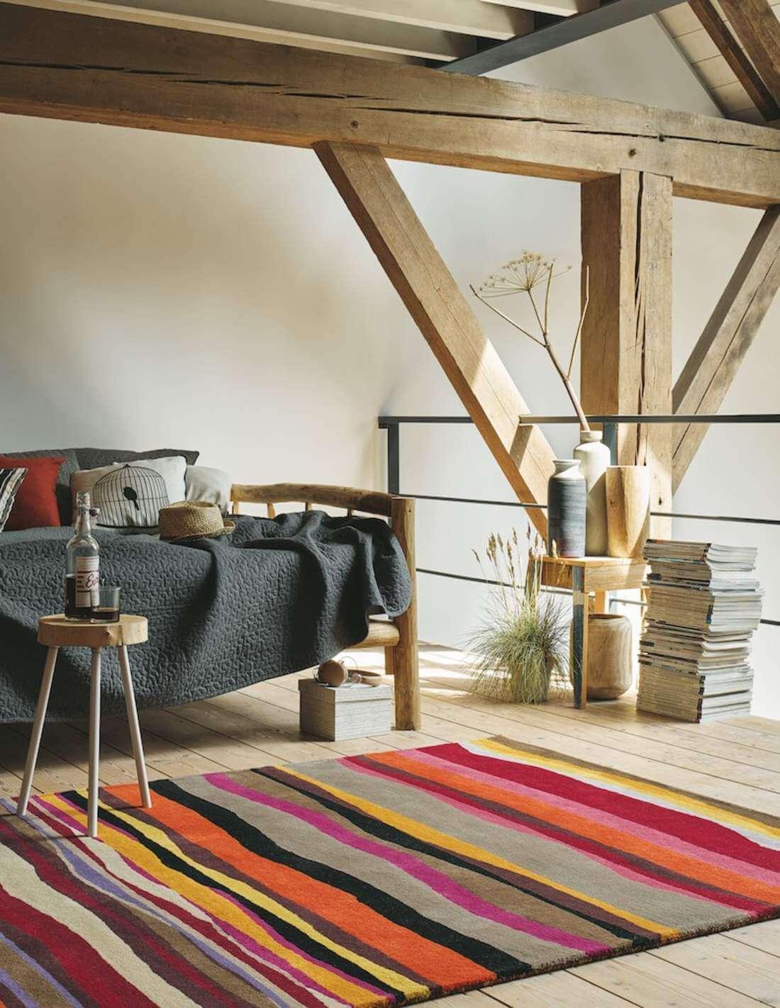 Alfombra de lana para decorar la casa en Decora-Zone en Bilbao