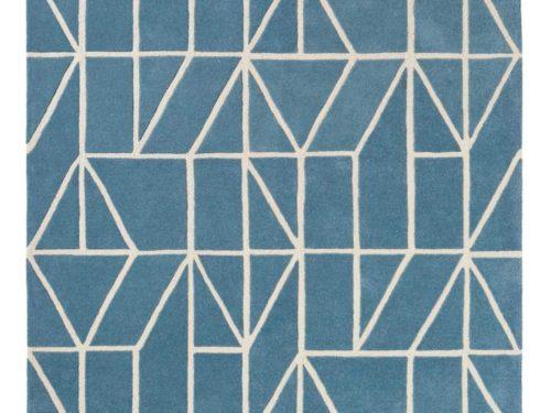 Alfombra de lana con dibujos geométricos de Brink & Campman en Decora-Zone de Bilbao