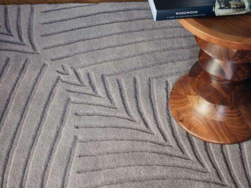 Alfombra de lana en color liso de Brink & Campman en Decora-zone de Bilbao