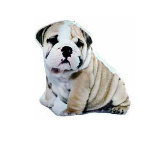 Cojín perroBulldog con relleno en Decora-Zone