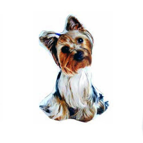 Cojín perro Yorkshire con relleno en Decora-Zone