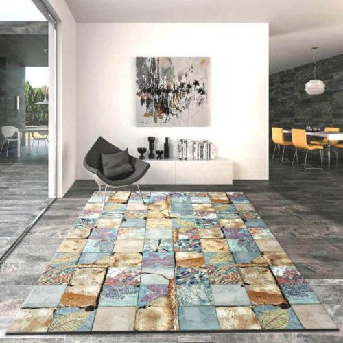Alfombra acrílica con impresión digital de Sualsa en Decora-Zone de Bilbao